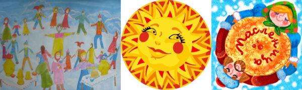 Хоровод, солнце и блин