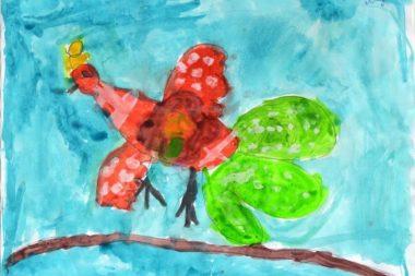Жар-птица красками