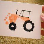 Рисунок трактора ступнёй