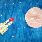 Ракета летит к планете