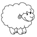 Шаблон Овца