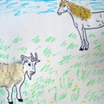 Коза и конь