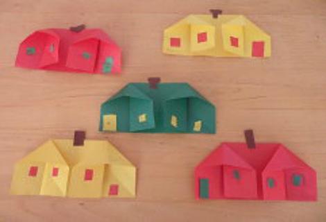 Объёмные домики