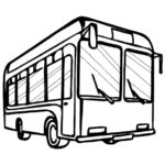 Шаблон рейсового автобуса
