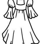 Шаблон платья