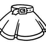 Шаблон юбки