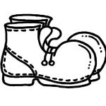 Шаблон ботинок