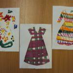 Три платья: с цветами, в клетку и в полоску