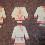 Роспись национальных рубашек