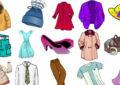 Картинки одежды, обуви и головных уборов