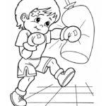 Шаблон боксёра