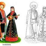 Раскраска Башкиры