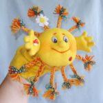 Игрушка на руку «Солнышко»