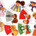 Шаблоны кукол-конусов