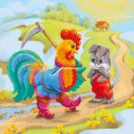 Иллюстрация к сказке Заюшкина избушка