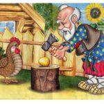 Иллюстрация к сказке Курочка Ряба