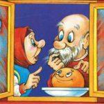 Иллюстрация к сказке Колобок