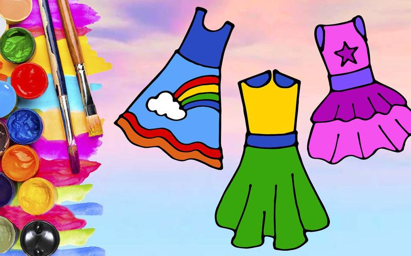В старшей группе дети учатся рисовать людей и подбирают красивую одежду для персонажей