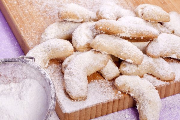 Печенье в сахарной пудре