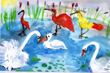 Рисование «Птицы» в подготовительной группе – масса идей для предметного и сюжетного рисования