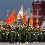 Шествие войск на Параде