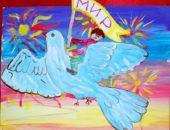Дошкольников нужно обязательно научить рисовать голубя – символ мира на всей Земле.