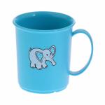 Голубая кружка со слоном