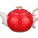 Чайник в горошек