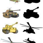 Военный транспорт и тени