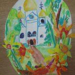 Церковь в пасхальном яйце