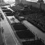 Парад Победы на Красной площади в Москве 24 июня 1945 г