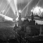 Салют Победы над Москвой 9 Мая 1945 года