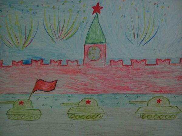 Танки на Красной площади