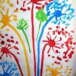 Разноцветный салют