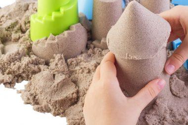 Кинетический песок является идеальным материалом, который может воплотить любые образы и замыслы