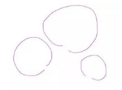 Три круга разного размера