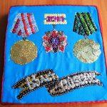 Ордена выложенные крупами