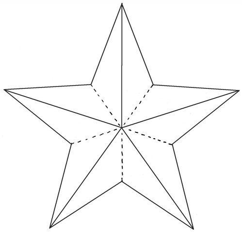 Шаблон звезды