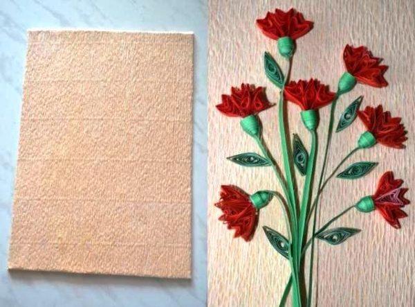 Путая подложка и подложка с цветами