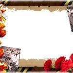 Шаблон в фотографиями ветеранов