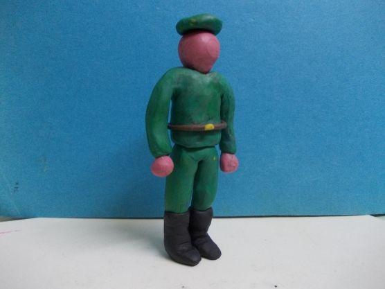 Солдат без черт лица