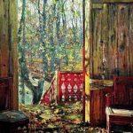 Картина И. Бродского Опавшие листья