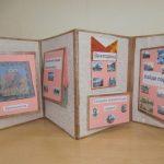 Лэпбук в виде папки-раскладушки о городе Борисоглебске