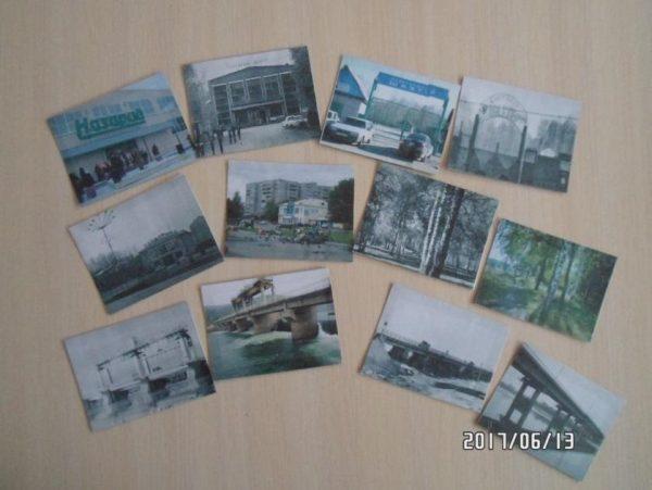 Старые и современные фото разных мест города