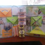 Лэпбук с желтыми, оранжевыми, салатовыми кармашками