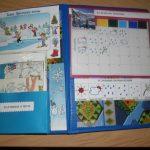 Лэпбук с календарём погоды на правой створке
