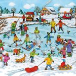 Картинка с зимними забавами