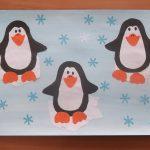 аппликация пингвинов