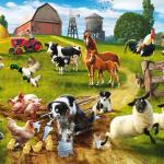 Картинка с фермой