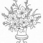 Шаблон Букет цветов